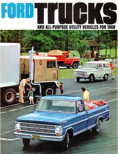 1968 Ford truck | 1968 Ford Trucks (USA) | Flickr - Photo Sharing!