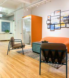 Orange brings joy to your day. Manhattan, Conference Room, Joy, Orange, Table, Furniture, Home Decor, Decoration Home, Room Decor