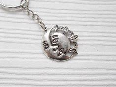 sun and moon keyring sun and moon keychain by nikajewellerybox