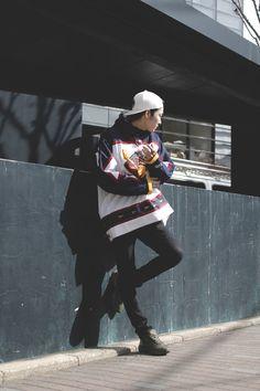 Street Style] Nomiya Hiiragitaira | Model (BARK IN STYLE) | Yoyogi (Tokyo)