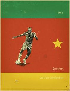 Eto'o dos Camarões.