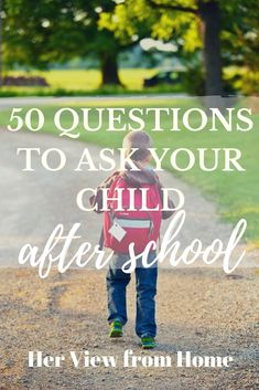 Sometimes it's hard to get--and keep--the conversation going with our kids. Here's 50 ways to get engaged and get your child talking. Parenting Toddlers, Parenting Books, Parenting Advice, Natural Parenting, Gentle Parenting, Overwhelmed Mom, Raising Girls, Positive Discipline, Happy Kids
