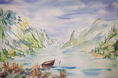 Fjord #fjord #norway #fjordsofnorway #fjørt Norway, Painting, Instagram, Art, Art Background, Painting Art, Kunst, Paintings, Performing Arts