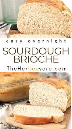 Sourdough Brioche Recipe, Brioche Bread, Sourdough Recipes, Bread Recipes, Healthy Eating Recipes, Whole Food Recipes, Vegetarian Recipes, Healthy Eats, Good Food