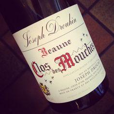 Joseph Drouhin Clos des Mouches Blanc 2010 #dansmonverre