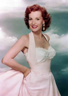 Maureen O'Hara (1920), famous Hollywood actress