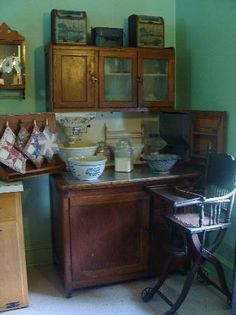 Kitchen of Amish house