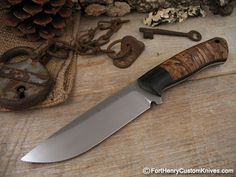 Michael Zieba - Whether making Tough Cutting Tools for Emergency Personnel or fine Custom Chef's knives - Michael Zieba takes pride in his work.
