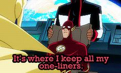 The Flash wally west justice league unlimited c: wally west   kid flash   the flash gifs: justice league unlimited tv: justice league unlimited r these too sharp