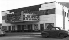 Springfield, IL. The Esquire Theater MacArthur and South Grand 1949. Courtesy of Springfield Rewind and Sangamon Valley Archive.