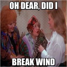 Aunt Bethany, the reason I love old people lol