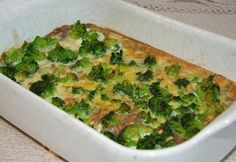 Brokkolis rizs Kefir, Quiche, Veggies, Breakfast, Food, Morning Coffee, Vegetable Recipes, Vegetables, Quiches