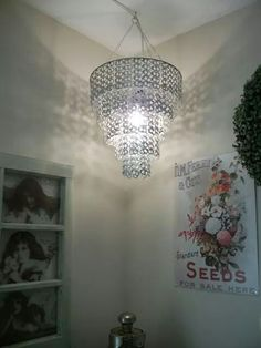 Soda top chandelier