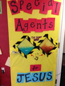VBS secret agent decoration ideas. Agency 3d, spy party, decorations and craft ideas