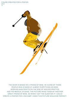 Illustrator figure for poster