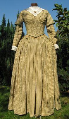 zeitverweil: Day Dress 1840s