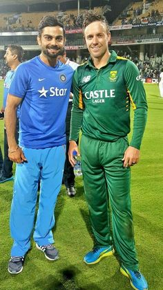 Virat and ABD the 2 best batsmen in the world right now together.