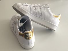 New shoes! *Adidas superstar - customized !
