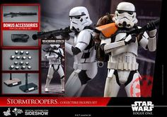 Stormtroopers Rogue One Sixth Scale Figures by Hot Toys!