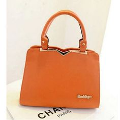 "Fashion Casual PU ""V"" Type Purity Cute Bag for Women DTH-329512 - TinyDeal"