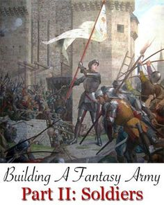 Fantasy army soldiers