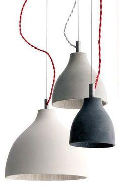 Concrete pendants, Industrial pendants, Industrial lighting, Classic and period lighting, Holloways of Ludlow Small Pendant Lights, Diy Pendant Light, Kitchen Pendant Lighting, Kitchen Pendants, Pendant Light Fixtures, Industrial Lighting, Interior Lighting, Home Lighting, Lighting Design