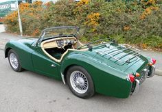 """""""sigh!"""" Beautiful! Historics at Brooklands - Specialist Classic and Sports Car Auctioneers - 1960 Triumph TR3A"""