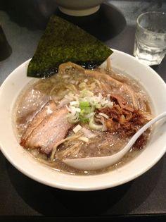 RakuRaku(楽々);Meat-Dry Fish Ramen  Address;2-8-9 Honmachi Kichijozi Musashino-shi Tokyo-to Japan