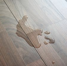 Prevent surface water from damaging your engineered wood or laminate floor..