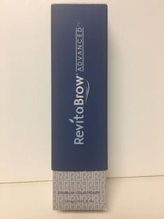 Lash Growth and Conditioner: Revitalash Revitabrow Advanced 3Ml Brand New Sealed In Box -> BUY IT NOW ONLY: $43 on eBay!