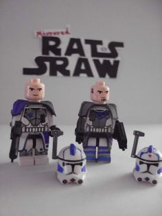 Lego Star Wars minifigures - Clone Custom ARC Troopers Fives and Echo LAST SET. TWO SOLD ALREADY. GRAB BEFORE LAST IS SOLD TO SOMEONE ELSE!