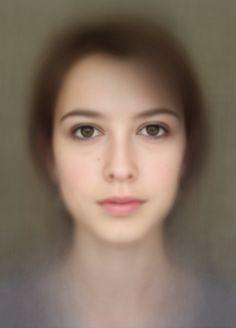 Beautiful composite of 400 self-portraits / Video here: http://www.youtube.com/watch?v=1llHXUfEdrI