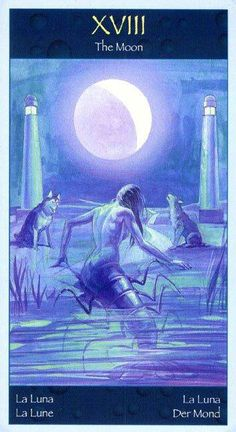 The Moon - Tarot of Mermaids