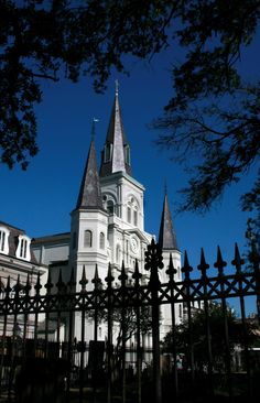 ♣ St. Louis Cathedral, Jackson Square, New Orleans