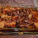 Egyptian Egyptian Style Baked Fish (Saneya Semaak)  http://egyptianfood.org/egyptian-style-baked-fish-saneya-semaak/