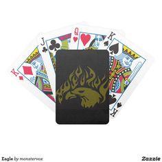 Eagle Bicycle Playing Cards #Eagle #Bird #Animal #USA #America #Game #Poker #Cards