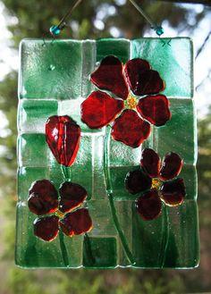 fused flowers