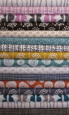 Lotta Jansdotter Echo Collection... I absolutely LOVE this collection.  Oh, to find a reason to buy it!