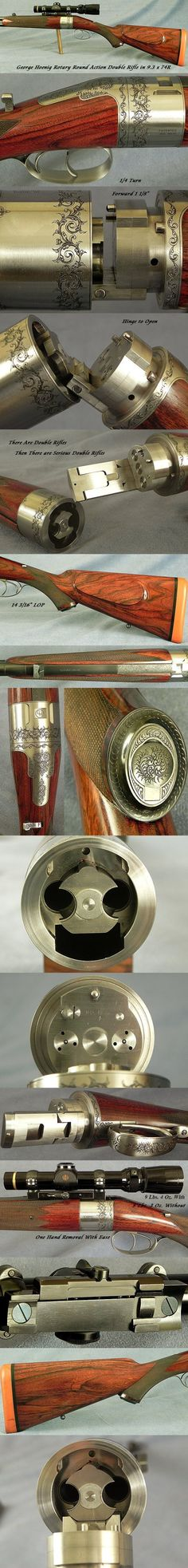 Rifle con ronda de acción rotativa, George Hoenig