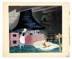 'cinderella', mary blair illustration Mary Blair, Walt Disney Animation, Animation Film, Cinderella Cartoon, Disney Animated Classics, Disney Concept Art, Classic Cartoons, Children's Book Illustration, Vintage Disney