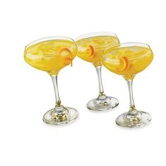 Cool Cocktails Metro Madness Margarita Glasses (Set of 6) - BedBathandBeyond.com