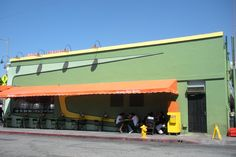 fred 62 diner, los angeles. owned by one of the beastie boys.
