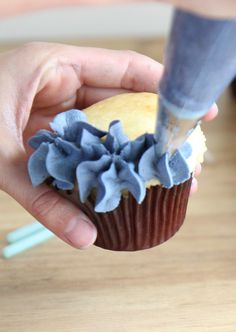 Jumbo Star Tip for hydrangea cupcakes