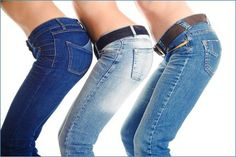 CLASSIC JEANS  free sewing pattern tutorial - make your own jean pattern from your measurements.