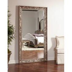 House of Hampton Holmes Floor Full Length Mirror Full Length Mirror In Bedroom, Hallway Mirror, Mirror Mirror, Floor Mirrors, Leaner Mirror, Foyer, Freestanding Mirrors, Mirror Inspiration, Bedroom Inspiration