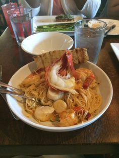 The Mooring - Newport, RI, United States. Seafood pasta