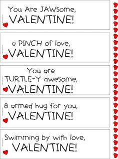 Sea Life Valentine P