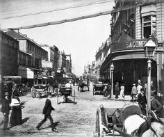 George St, Sydney from Fred Hardie - Photographs of Sydney, Newcastle, New South Wales and Aboriginals for George Washington Wilson & Co.
