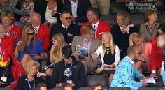 koningspaar: World Rowing Championship 2014, Amsterdam, August 31, 2014-Queen Maxima, Princess Alexia, King Willem-Alexander, Princess Ariane, Princess Amalia