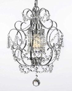 This beautiful Chandelier is trimmed with Empress Crystal(TM) 100% Crystal Chandelier. A Great European Tradition. Nothing is quite as elegant as the fine cryst